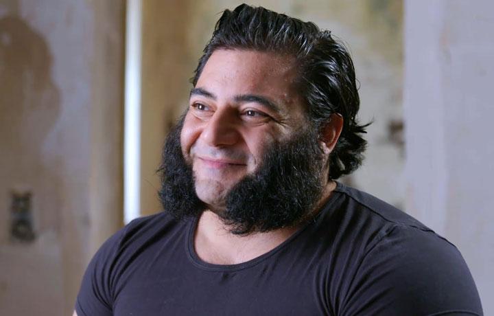 Patrik Baboumian headshot