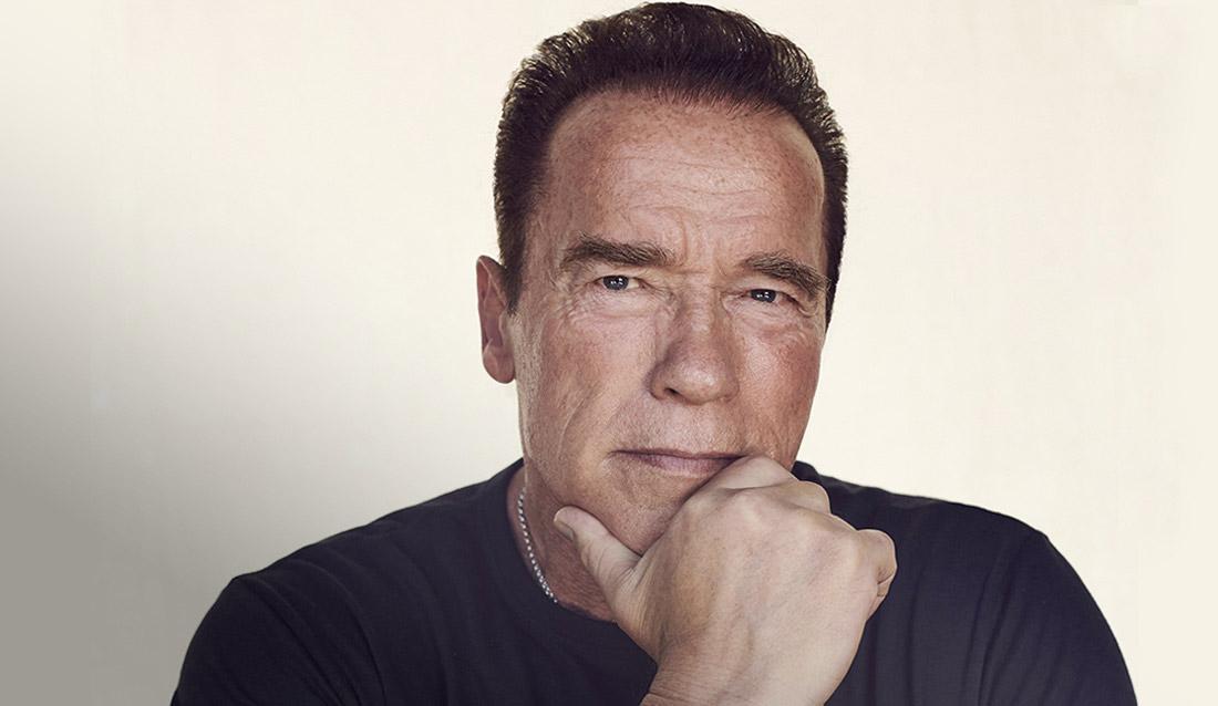 Arnold Schwarzenegger Headshot