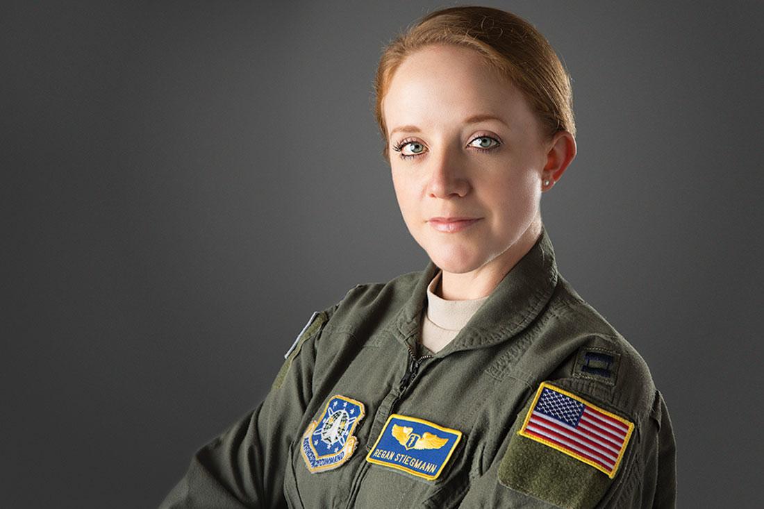 Capt. Regan Stiegmann, MD headshot